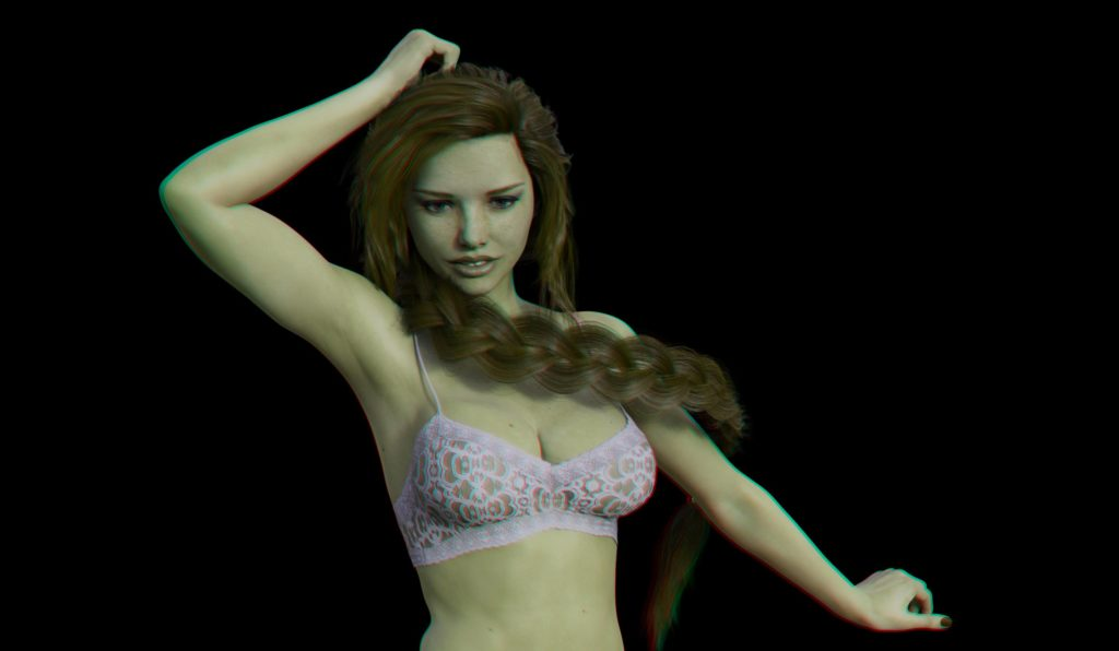 ex, sexual story, date, virtual date, free games, porno, erotic, adventure, virtual girl, virdate, Emma Sweet, stereo, anaglyph