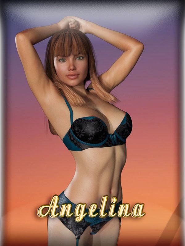 Sexy nurse Angelina