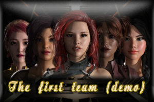 "Picture from the sex game ""First Team"" by Virtual Passion."